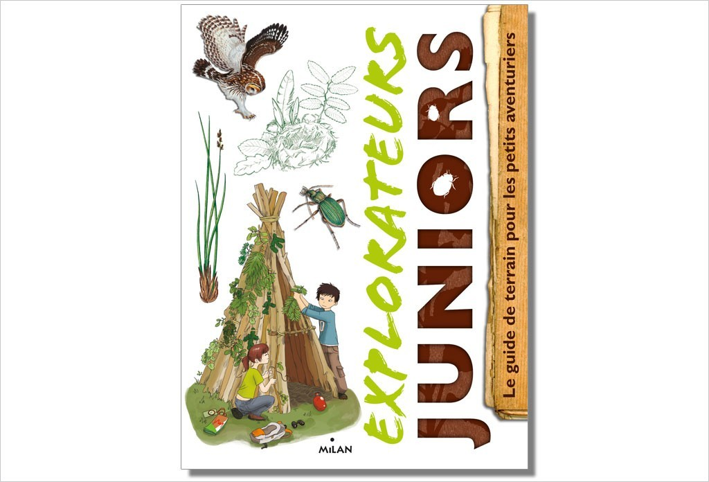 "Livre ""Explorateurs juniors"""