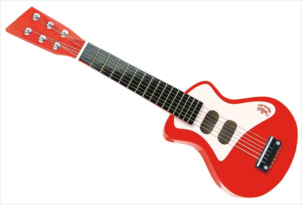 Guitare rock rouge Vilac