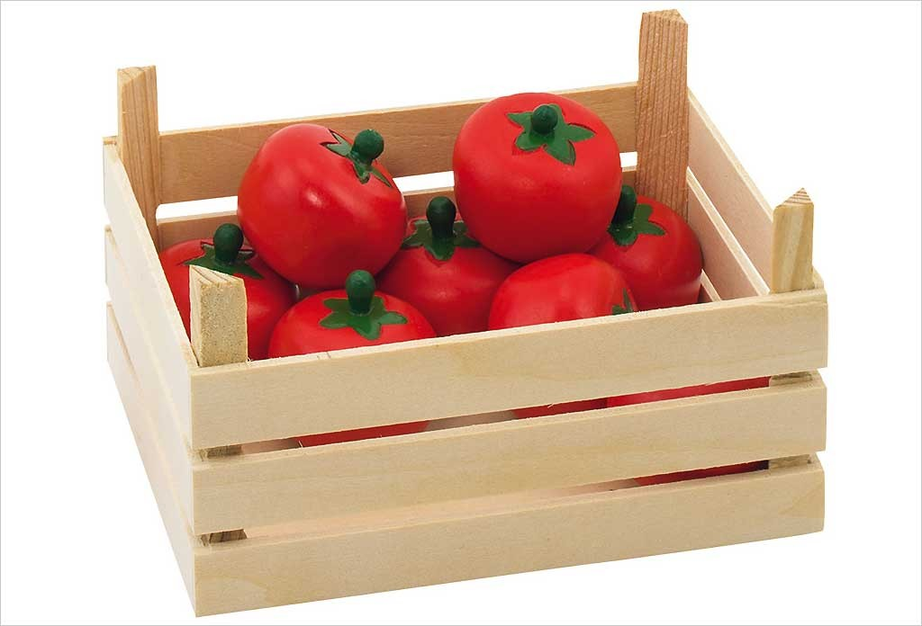 Fruits en bois Goki - Tomates