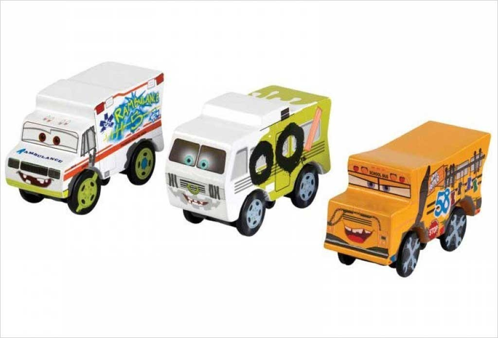 Camions Cars 3 Coffret Thunder Hollow