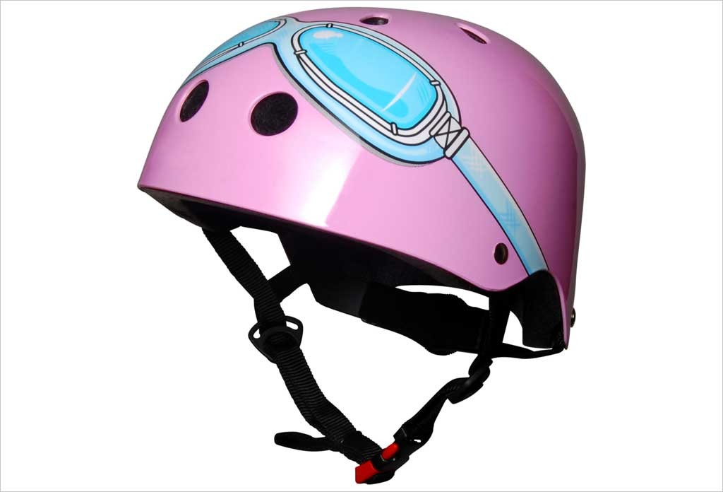 Casque vélo fille rose Medium