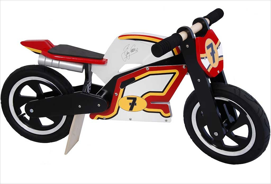 Draisienne moto Barry Sheene