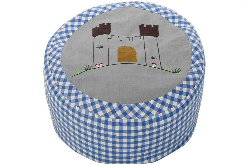 Pouf château fort Win Green