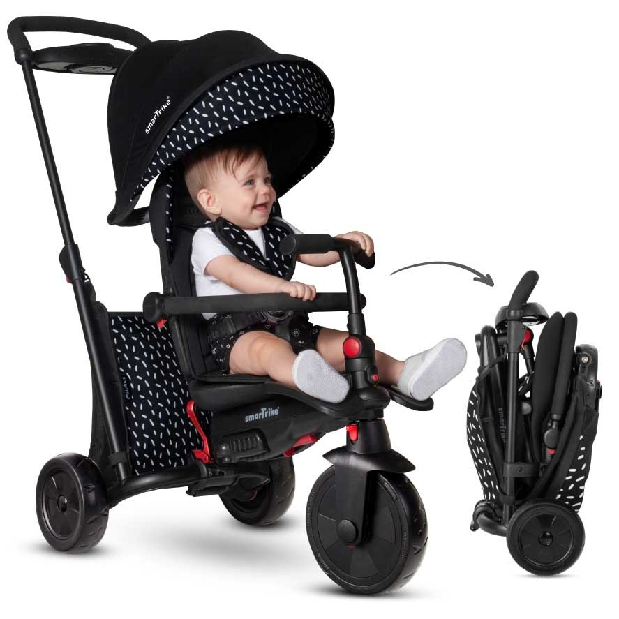 Poussette Tricycle noir SmarTrike