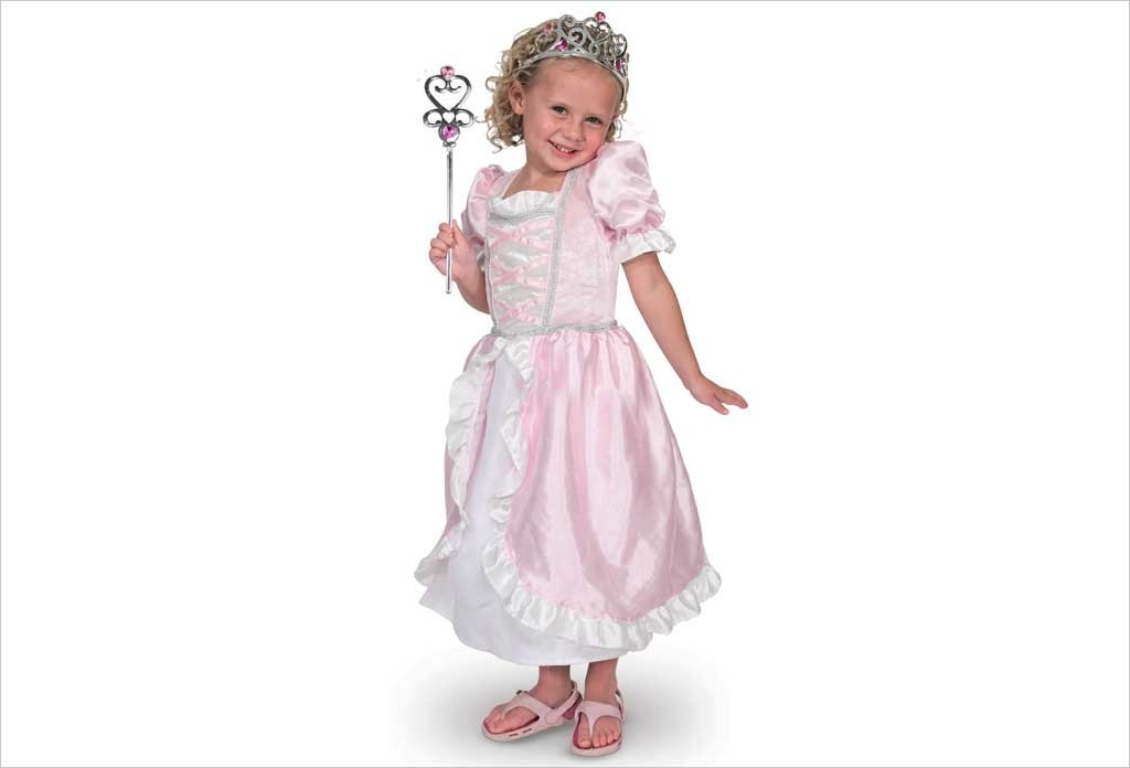 Robe de princesse rose Melissa &Doug