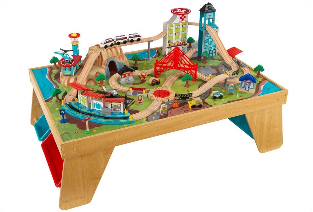 Table circuit de train KidKraft Aerocity