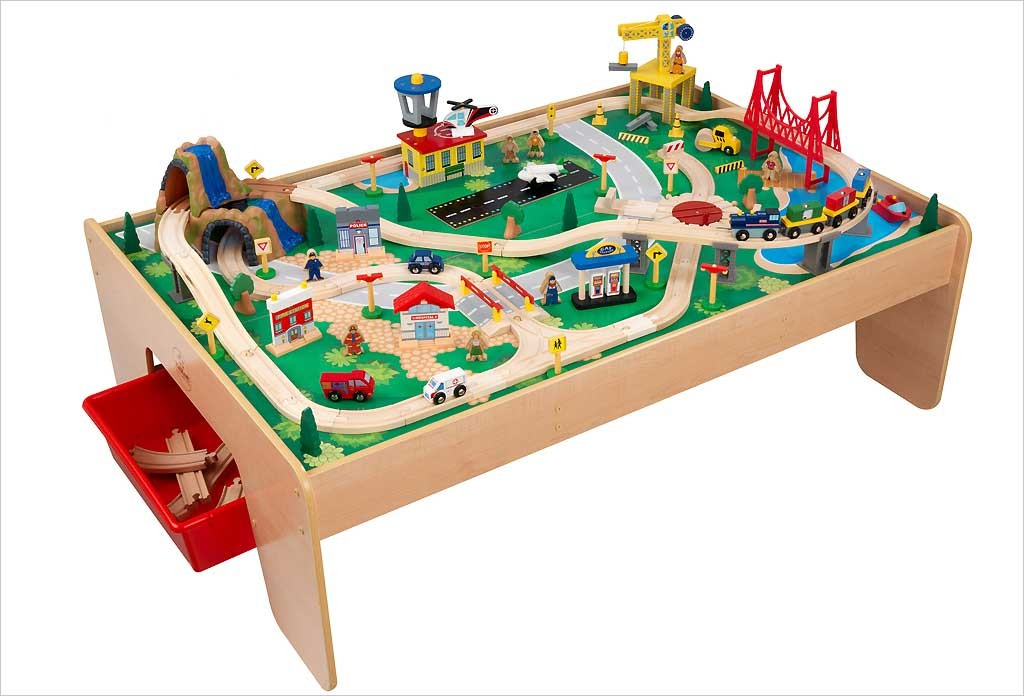 Table circuit train Waterfall Mountain - KidKraft