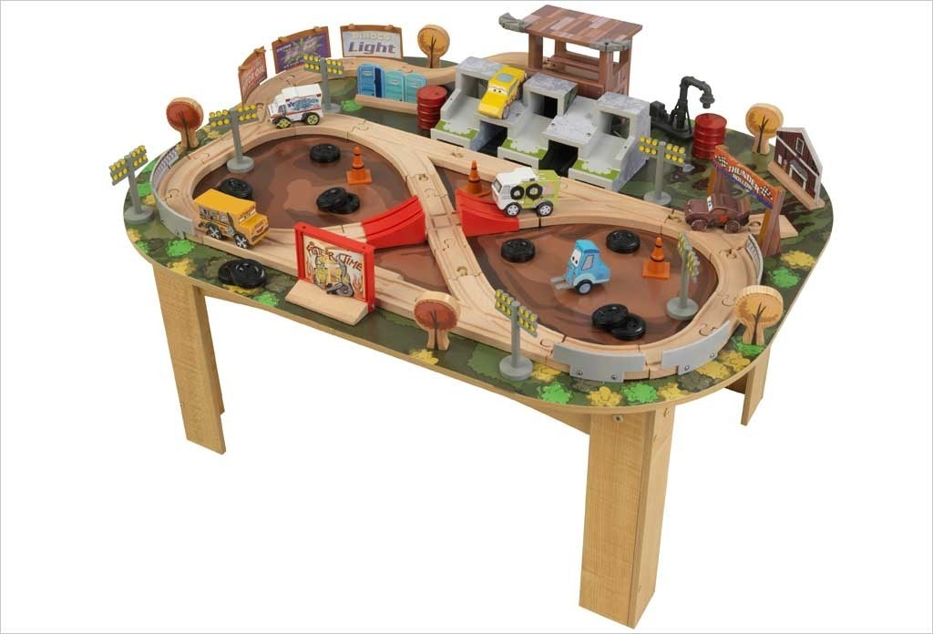 Table et circuit Cars 3 Thunder Hollow