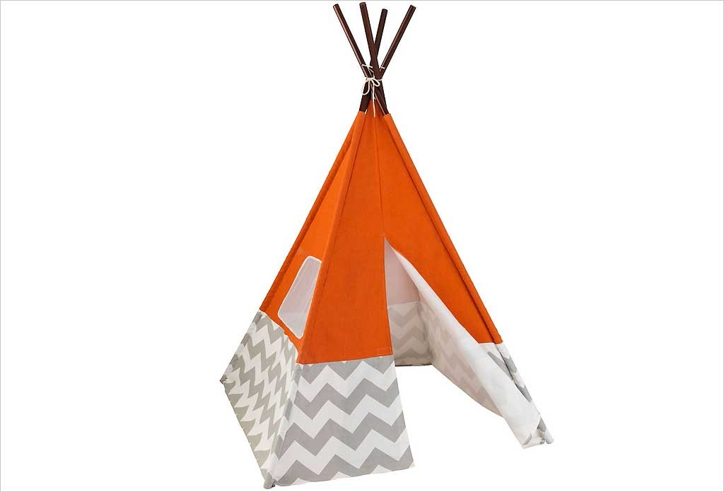 Tipi enfant orange