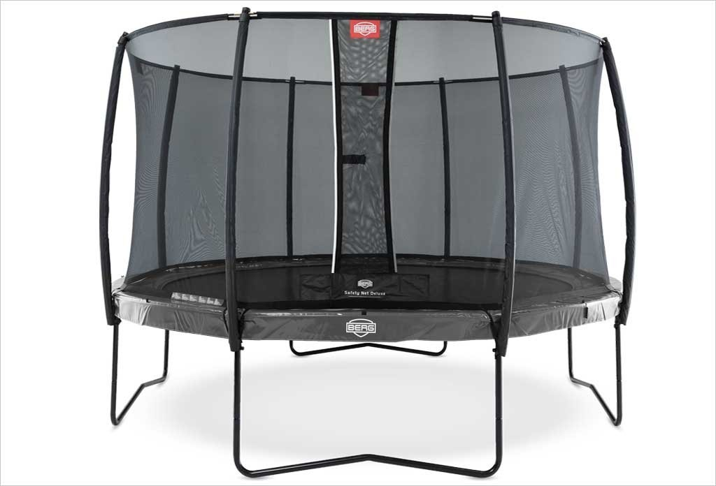 Trampoline 330 cm BERG Elite Gris + filet