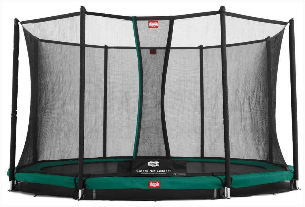 Trampoline enterré 430cm Favorit + filet