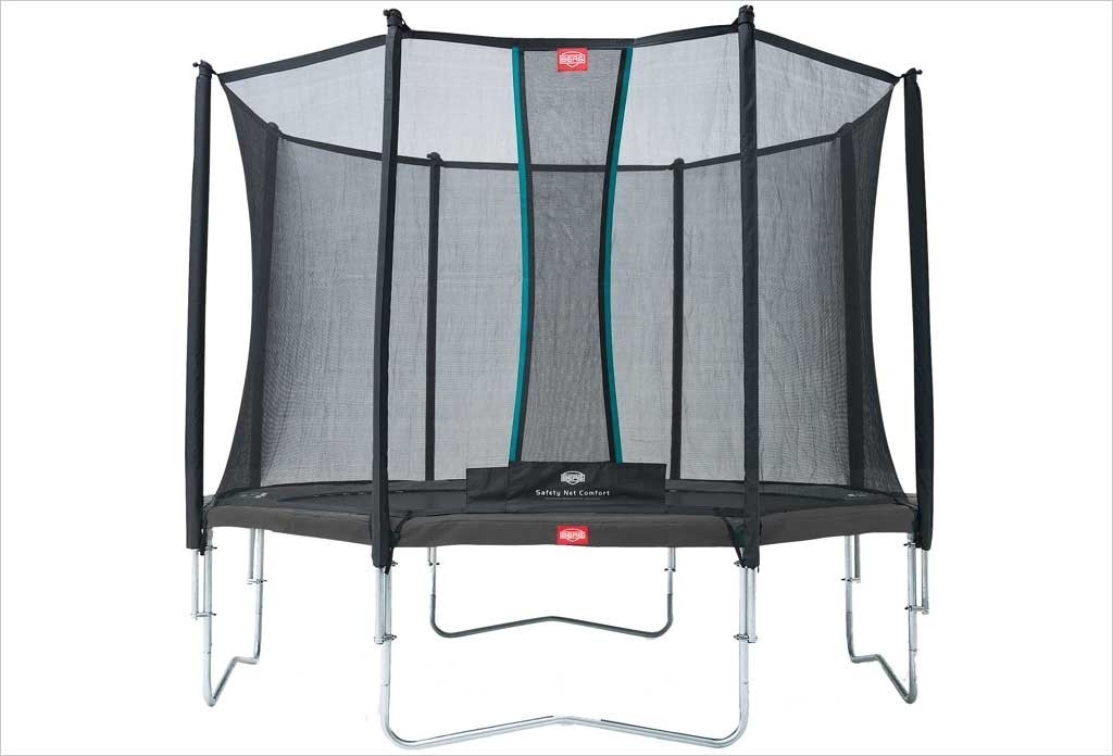 Trampoline Gris 330 cm Favorit BERG + filet