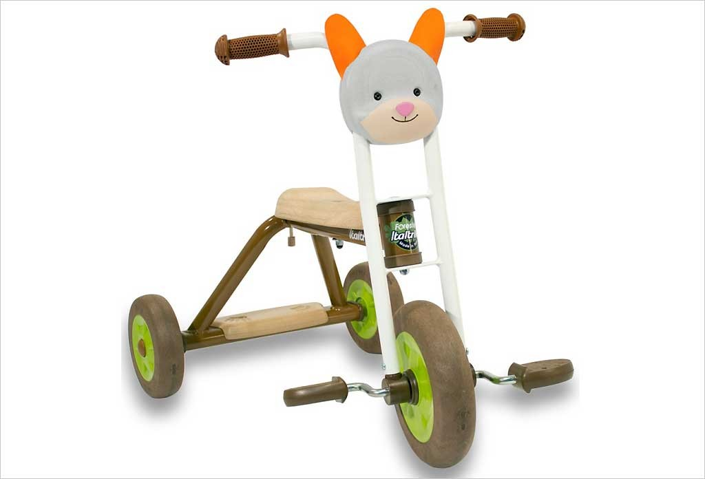 Tricycle nature lapin Italtrike