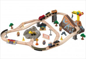 Circuit de train en bois Bucket Top - KidKraft