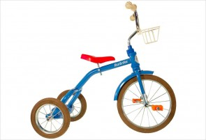 Grand tricycle vintage bleu 3-5 ans