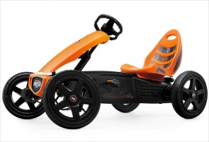 Kart à pédales BERG Rally orange