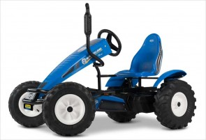 Kart New Holland BFR bleu de BERG