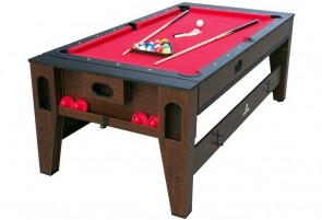 La table de jeu Reverso billard et air hockey
