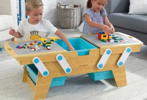 Table Building Bricks Play N Store KidKraft