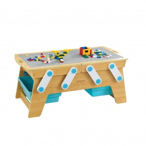 Table de rangement Building Bricks Play N Store KidKraft