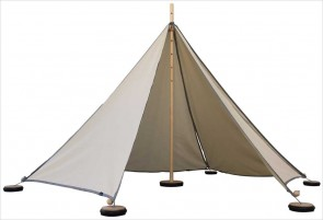 Tente Abel S - 5 triangles sable