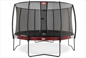 Trampoline 330 cm BERG Elite Rouge + filet