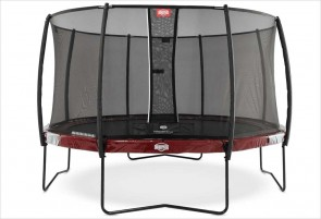 Trampoline 430 cm BERG Elite Rouge + filet