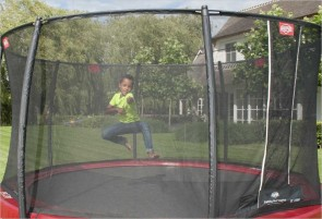 Trampoline 380 cm BERG Elite Rouge + filet