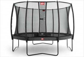 Trampoline 430 cm gris BERG Champion + filet