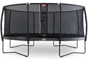 Trampoline 520 cm BERG Elite Gris + filet
