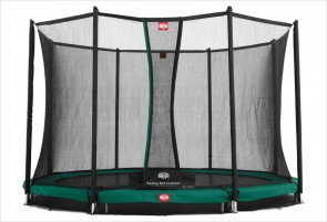 Trampoline enterré 380cm Favorit + filet