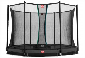 Trampoline enterré Gris 380cm Favorit + filet
