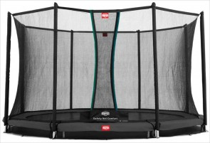 Trampoline enterré Gris 430cm Favorit + filet