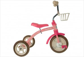 Tricycle fille rétro rose - Italtrike