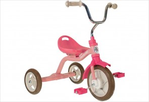 Tricycle fille rose en métal Italtrike