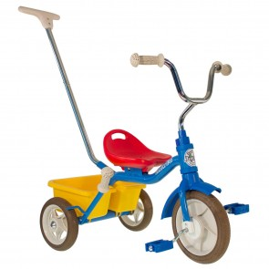 Tricycle Italtrike colorama canne et benne