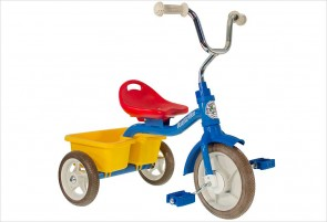 Tricycle métal colorama avec benne