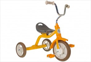 Tricycle orange en métal Italtrike