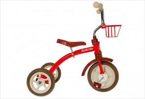 Tricycle rétro en métal rouge 10283